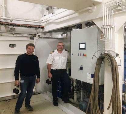 Scandlines udnytter spildvarme til køling med COOL4SEA teknologi